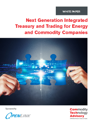 Next Generation Integrated Treasury and Trading for Energy and Commodity Companies
